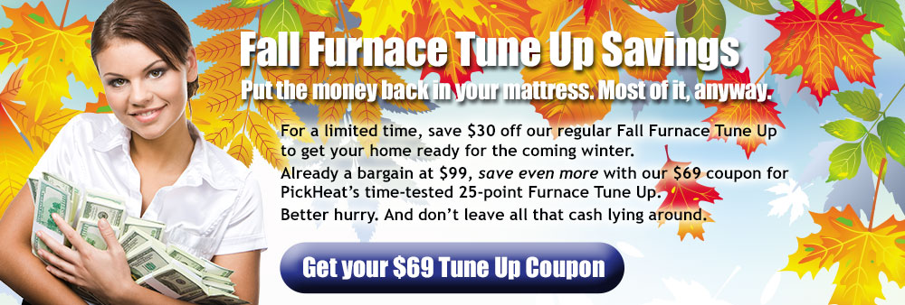 Fall Furnace Tune Up Savings