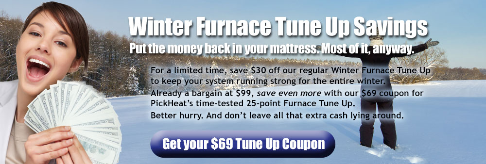 Winter Furnace Tune Up Savings