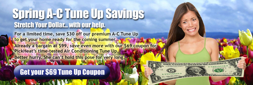Spring Furnace Tune Up Savings