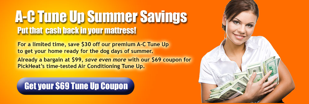 Summer A/C Tune Up Savings
