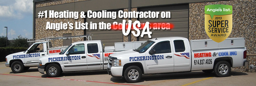 #1 Heating & Cooling Contractor on Angie's List