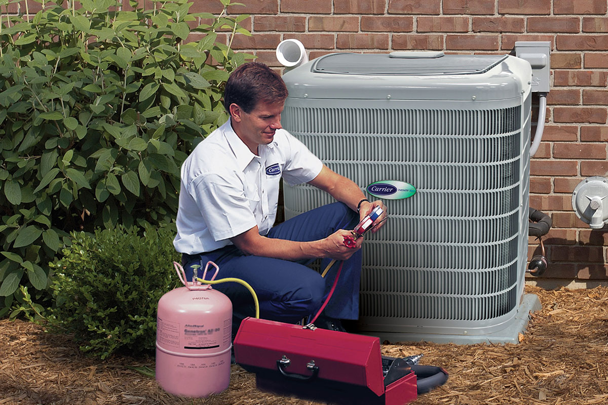 AC installation technician