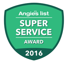 Angie's List Super Service Award 2016 HVAC