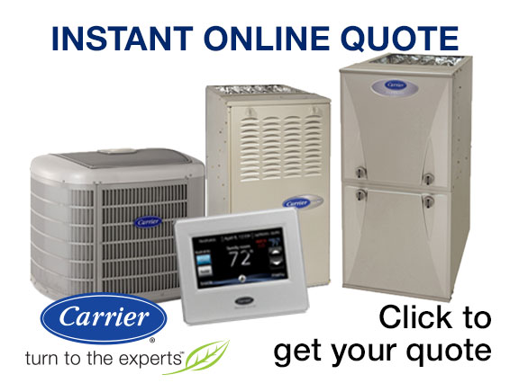 HVAC Instant online equipment quote Pickerington