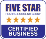 Pickerington Heating & Cooling is part of the Five Star Heating & Cooling Group
